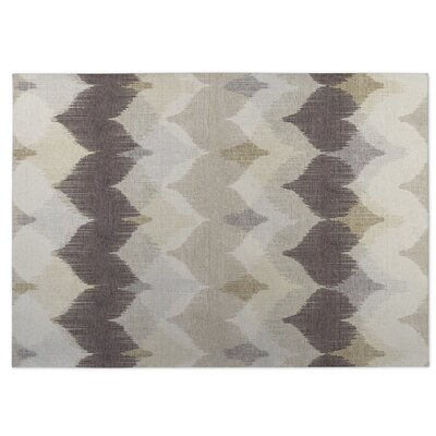 Brown/Beige Indoor/Outdoor Doormat Rug Size: 4 x 5