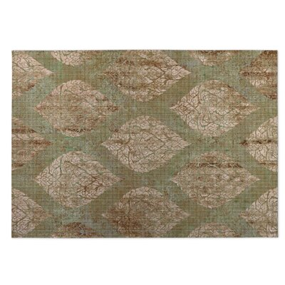 Elna Indoor/Outdoor Doormat Color: Green
