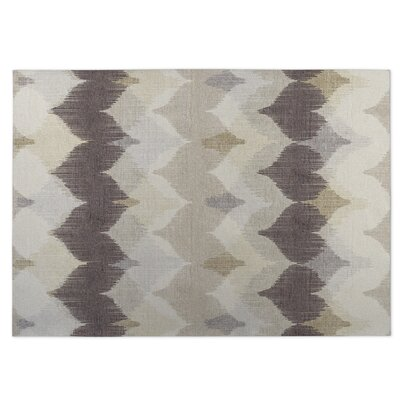 Brown/Beige Indoor/Outdoor Doormat Rug Size: 5 x 7