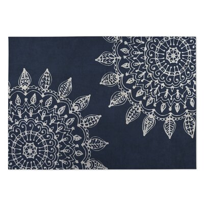 Blue Indoor/Outdoor Doormat Mat Size: Rectangle 5 x 7