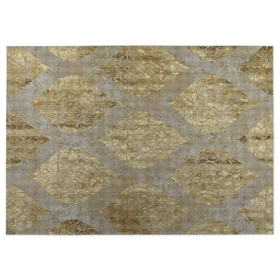 Ascent Beige Indoor/Outdoor Doormat Rug Size: 8 x 10