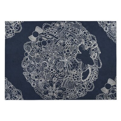 Adorned Utility Mat Mat Size: Rectangle 4 x 5