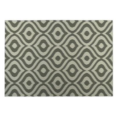 Green Indoor/Outdoor Doormat Rug Size: 4 x 5