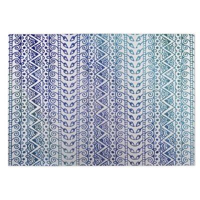 Ocean Breeze Purple/Blue Indoor/Outdoor Doormat Rug Size: 8 x 10
