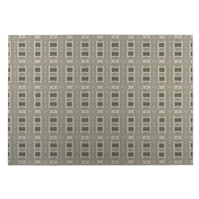 Crossroads Beige Indoor/Outdoor Doormat Rug Size: 8' x 10'