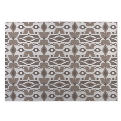 Mojave Indoor/Outdoor Doormat Color: Taupe/Ivory