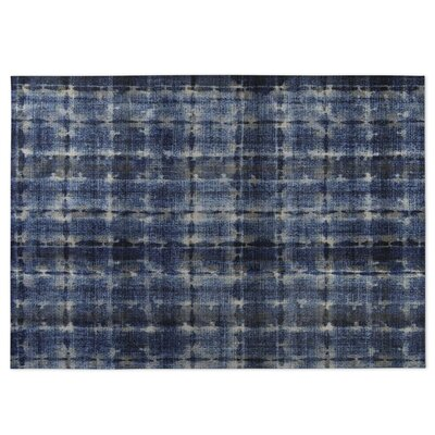Blue Indoor/Outdoor Doormat Rug Size: Square 8