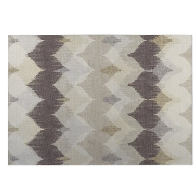 Brown/Beige Indoor/Outdoor Doormat Rug Size: 8 x 10