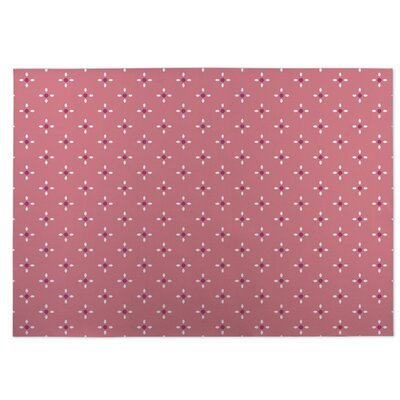 Nightscape Pink Indoor/Outdoor Doormat Rug Size: 5 x 7