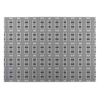Crossroads Gray Indoor/Outdoor Doormat Rug Size: 8 x 10