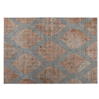 Ascent Gray/Brown Indoor/Outdoor Doormat Rug Size: 8 x 10