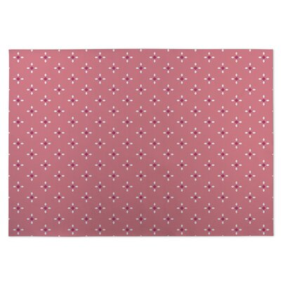 Nightscape Pink Indoor/Outdoor Doormat Rug Size: 8 x 10