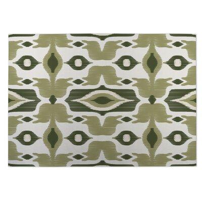 Cosmos Indoor/Outdoor Doormat Color: Green