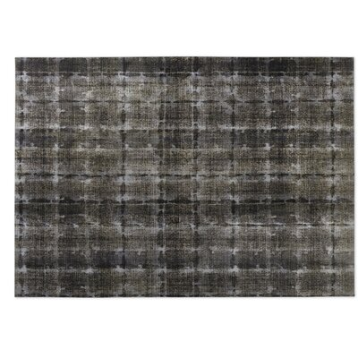 Shibori Indoor/Outdoor Doormat Color: Gray