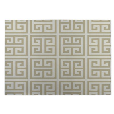 Ginger Beige Indoor/Outdoor Doormat Rug Size: 8 x 10