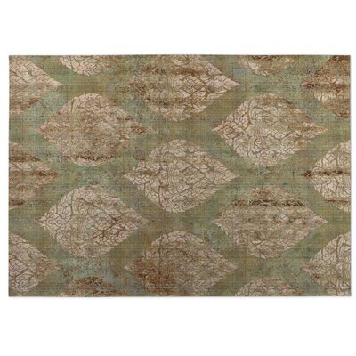 Ascent Brown/Green Indoor/Outdoor Doormat Rug Size: 5 x 7