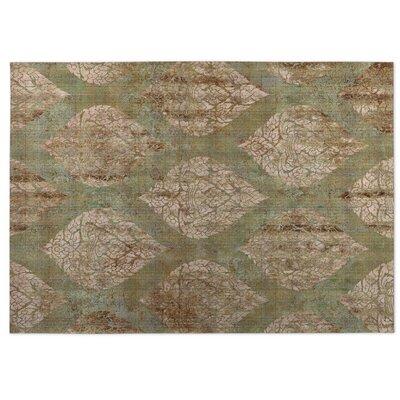 Ascent Brown/Green Indoor/Outdoor Doormat Rug Size: 5 x 7