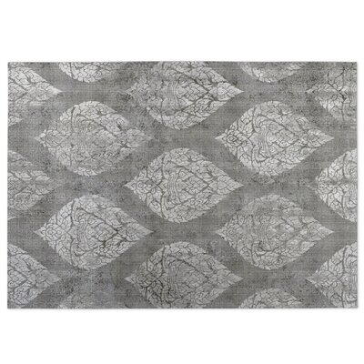 Ascent Gray Indoor/Outdoor Doormat Rug Size: Square 8