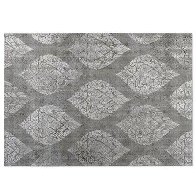 Ascent Gray Indoor/Outdoor Doormat Rug Size: 4 x 5