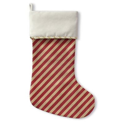 Stripes Christmas Stocking STO-CSTC-13X21-TEL1065