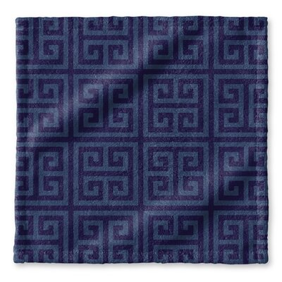 Greek Key Wash Cloth
