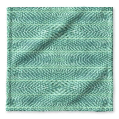 Palms Wash Cloth Color: Blue Green