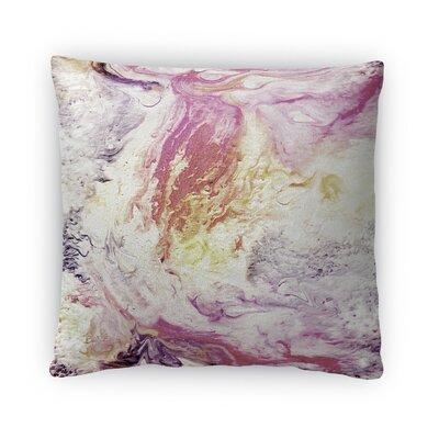 Cosmos Fleece Throw Pillow Size: 16 H X 16 W X 4 D