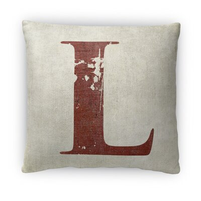 L Fleece Throw Pillow