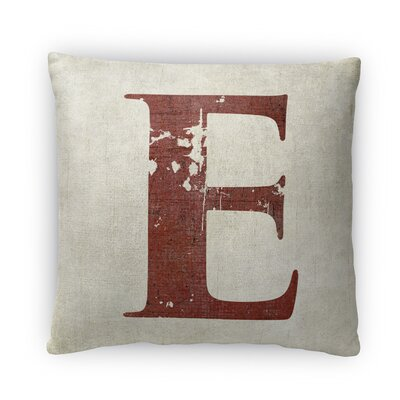 E Fleece Throw Pillow