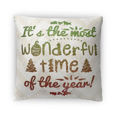 Tis The Season Fleece Throw Pillow