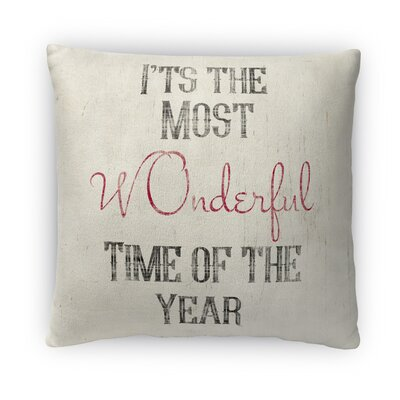 Wonderful Fleece Throw Pillow