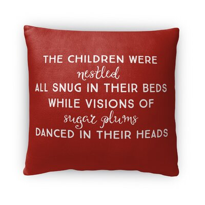 The Children Fleece Throw Pillow
