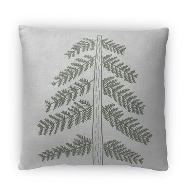 Tree Fleece Throw Pillow