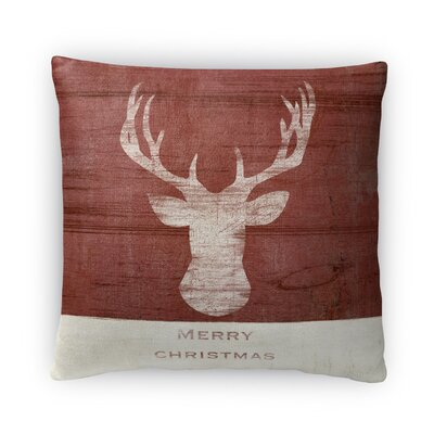 Merry Christmas Il Fleece Throw Pillow