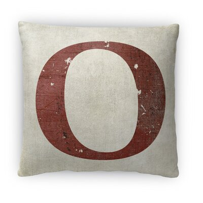 O Fleece Throw Pillow