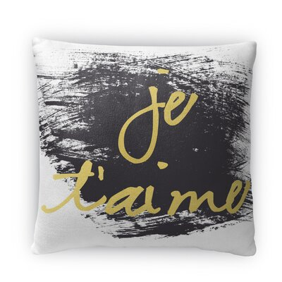 Le Taime Fleece Throw Pillow Size: 18 H X 18 W X 4 D