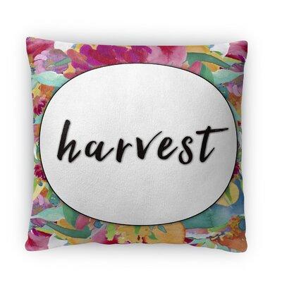 Harvest Fleece Throw Pillow Size: 16 H X 16 W X 4 D