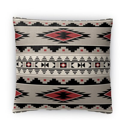 Cheroke Fleece Throw Pillow Size: 16