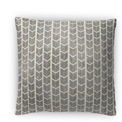City Rain Fleece Throw Pillow Size: 18 H x 18 W x 4 D