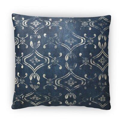 El Durado Fleece Throw Pillow Color: Blue, Size: 18 H x 18 W x 4 D