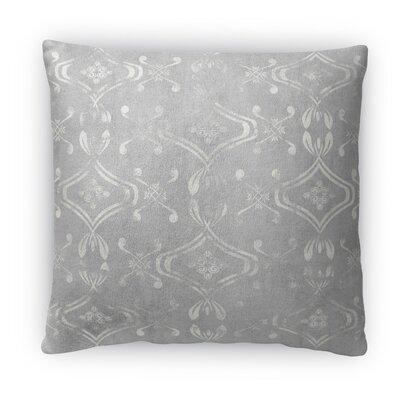 El Durado Fleece Throw Pillow Color: Light Gray, Size: 18 H x 18 W x 4 D
