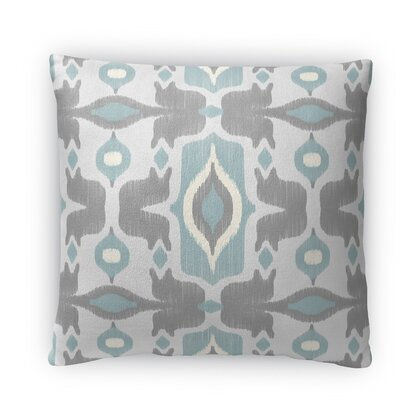 Cosmos Fleece Throw Pillow Size: 18 H x 18 W x 4 D, Color: Blue