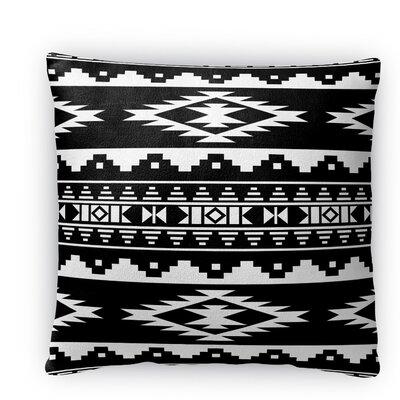 Cheroke Fleece Throw Pillow Size: 16