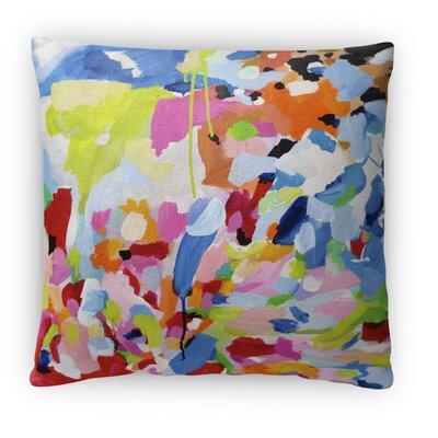 Benajah Fleece Throw Pillow Size: 16 H x 16 W x 4 D