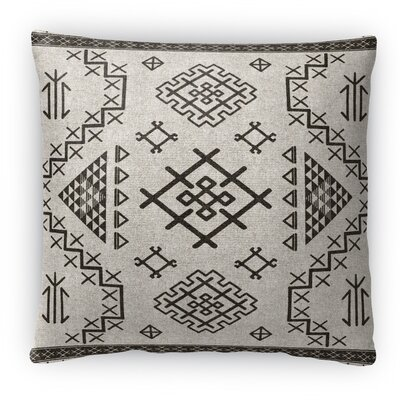 Cyrill Fleece Throw Pillow Color: Beige, Size: 16 H x 16 W x 4 D