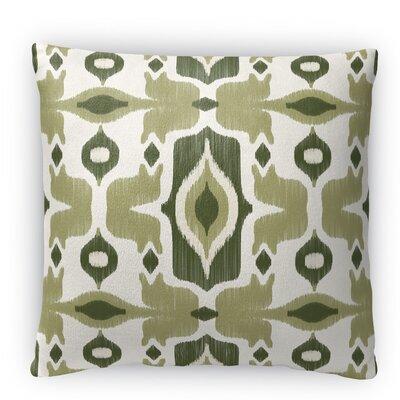 Cosmos Fleece Throw Pillow Color: Green, Size: 16 H x 16 W x 4 D