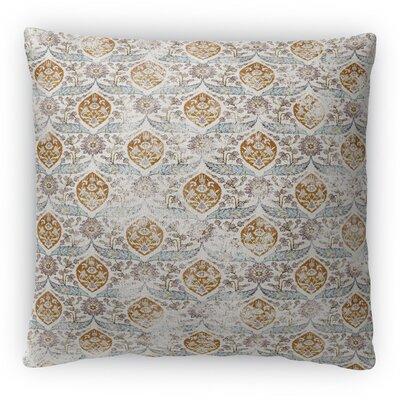 Estancia Fleece Throw Pillow Color: Ivory, Size: 16 H x 16 W x 4 D