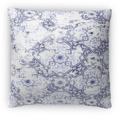 Sandoval Fleece Throw Pillow Size: 18 H x 18 W x 4 D, Color: Blue