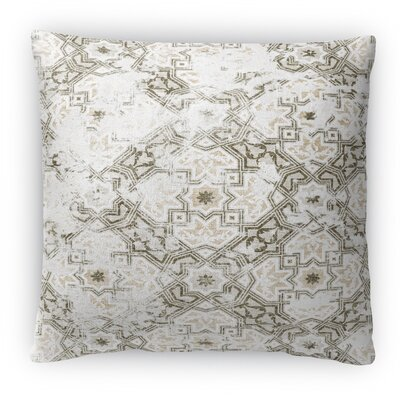 Sandoval Fleece Throw Pillow Color: Gray, Size: 16 H x 16 W x 4 D