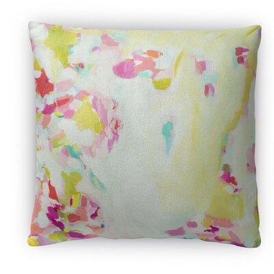 SHC Sheer Scarf Fleece Throw Pillow Size: 16 H x 16 W x 4 D